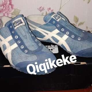 Onitsuka blue denim