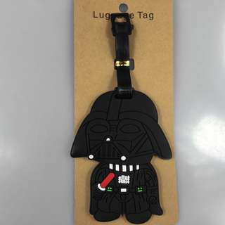 Starwars Darth Vader luggage tag