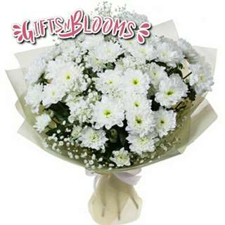 Fresh Flower Bouquet Surprise for Special Anniversary Birthday Gift V40 - PNOPW