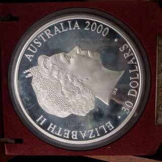 2000悉尼奥運英女皇頭币1Kg 999銀