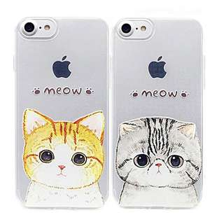 大頭貓meow IPhone Case