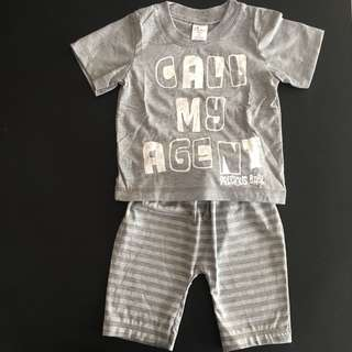 228-0021 Boy Cute Set Wear