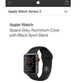 Apple iWatch Series 3 (Cellular)
