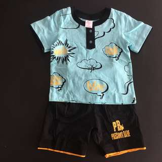 228-0020 Boy Cute Set Wear