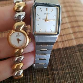 Seiko vintage lady watches for parys
