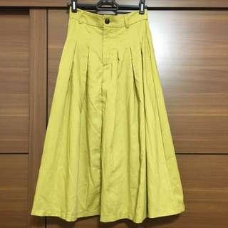 芥末色 半身裙 裙子 韓版 全新