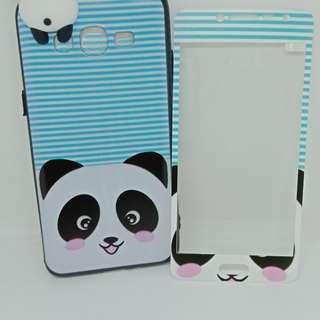 New panda manjat plus tempered glass samsung j2 prime