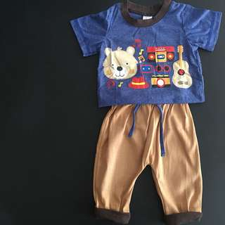 228-0019 Boy Cute Set Wear