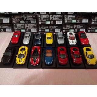 Ferrari 法拉利全世代 模型車全套12+2款隱藏版 共14台