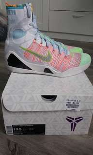 Nike What the Kobe IX With nike invoice