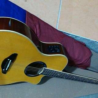 Gitar apx atring krem ajib new
