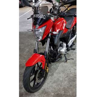 Used Aprilia STX150 For Sale (Candy Red)