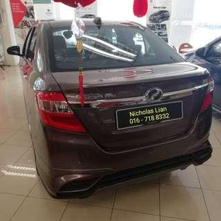 Perodua Bezza grab / uber driver