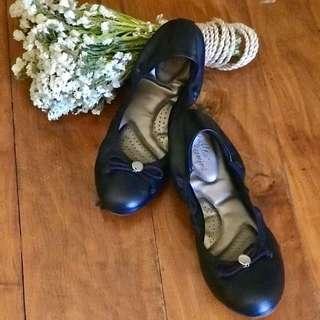 Dexflex Comfort Women's Claire Scrunch Flat Shoes