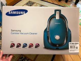 Samsung Canister Vacuum Cleaner (紫色)