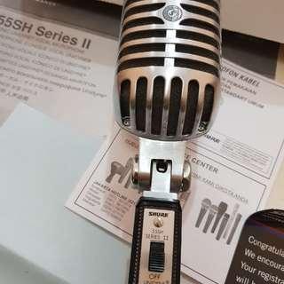 Microphone SHURE 55SH SERIES II