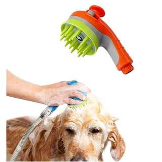 花灑頭shower sprayer dog grooming pet massage寵物貓狗沖涼 沐浴按摩