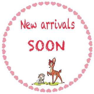 New Arrivals Are Coming Soon