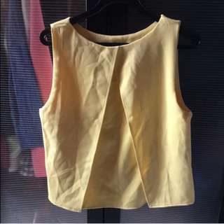 (Price Reduced!) BN Basic Yellow Top