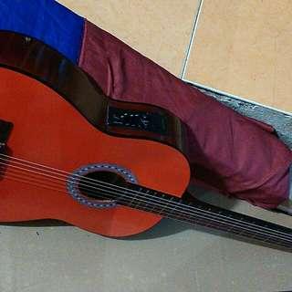 Gitar classsic nilon elektrik
