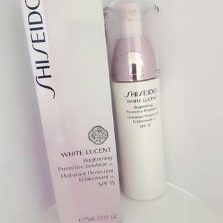 White Lucent protective emulsion
