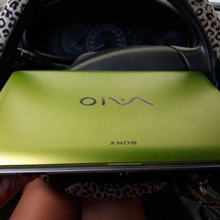Rush for sale Sony vaio keroppi (apple green)