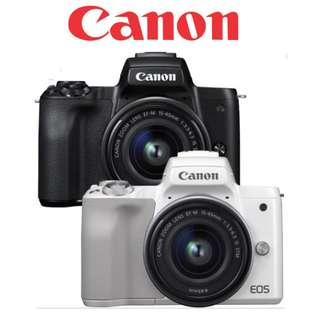 Canon EOS M50 15-45mm Kit (PRE-ORDER 15-22nd March 2018)