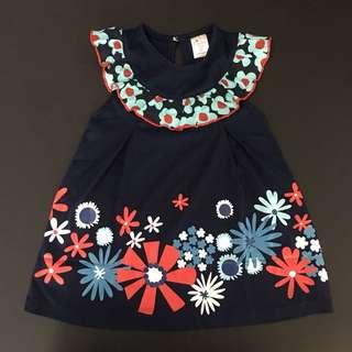 228-0018 Girl Floral Dress
