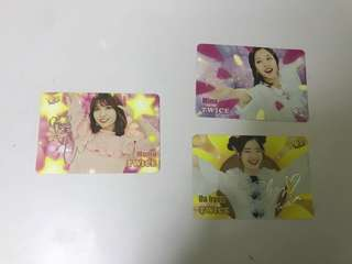 Twice第31期 Yes Card