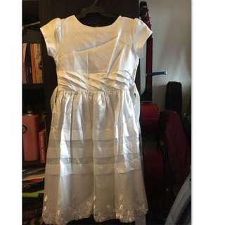 White Dress for young girls