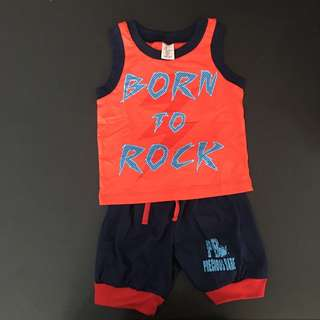 228-0016 Boy Cute Set Wear