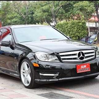 11年出廠12年型式滿配Benz C250 全景