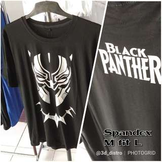 Kaos 3DD Superhero Black Panther