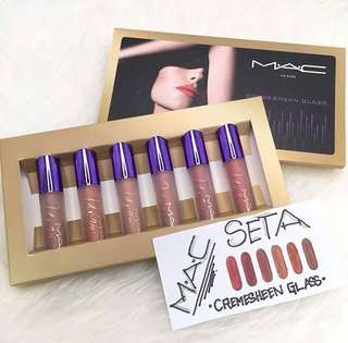Mac cremesheen glass (6pcs)