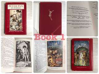 [Rare Book] Peter Pan - J M Barrie. Preloved