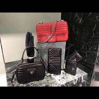 Prada Dior bags