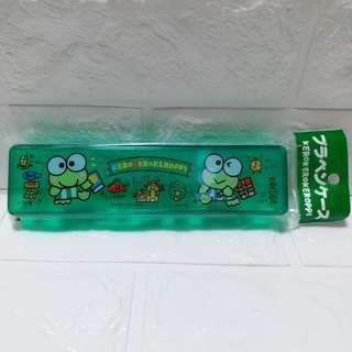 1994年 Sanrio 絕版 Kerokerokeroppi 筆盒 Keroppi 青蛙