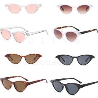 4 Colours Monroe Cat Eye Sunglasses