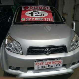 Toyota rush s 2010 at