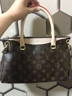 Lv pallas bb monogram canvas bag