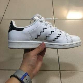 Adidas 愛迪達 史密斯 黑尾 Stan smith