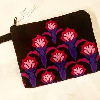 Floral Clutch  Batik