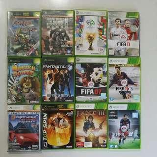 XBOX & 360 XBOX Games