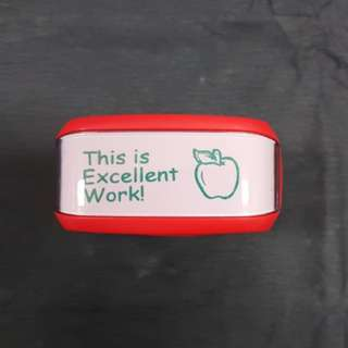 Teacher Stamp: This is Excellent Work!