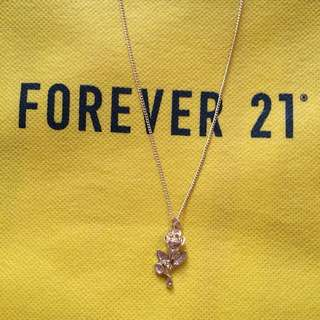 Rose Necklace Forever 21