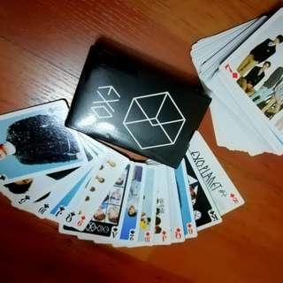 EXO POKER CARDS