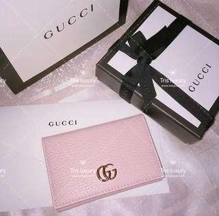櫻花粉 Gucci GG wallet