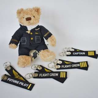 """Remove before flight keychains 5"""""""