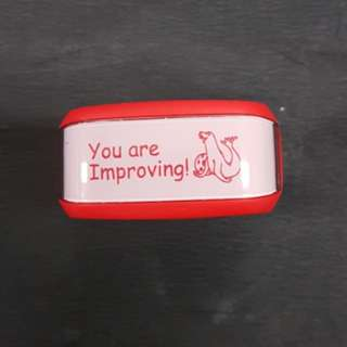 Teacher Stamp: You are Improving!