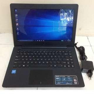 Laptop Asus X453SA Celeron Broadwell Ram 2GB Hdd 500GB
